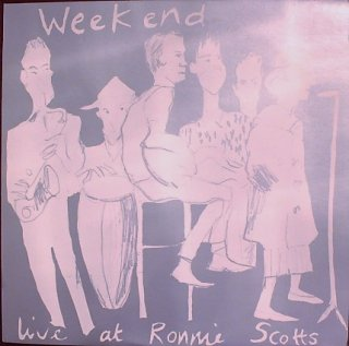 WEEKEND / LIVE AT RONNIE SCOTTS (USED LP)