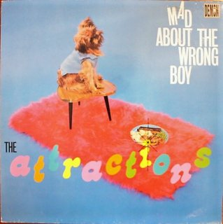 THE ATTRACTIONS / MAD ABOUT THE WRONG BOY (USED LP)