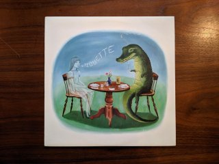 CASIOTONE FOR THE PAINFULLY ALONE / ETIQUETTE (USED LP)