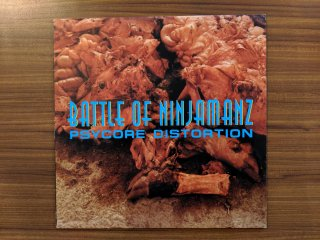 BATTLE OF NINJAMANZ / PSYCORE DISTORTION (USED 12INCH)