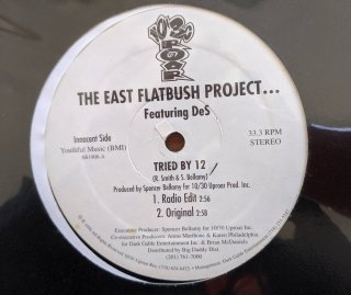THE EAST FLATBUSH PROJECT / TRIED BY 12 (USED 12INCH)