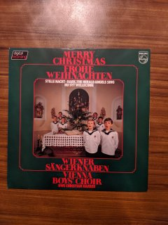 VIENNA BOY'S CHOIR ウィーン少年合唱団 / MERRY CHRISTMAS FROHE WEIHNACHTEN (USED LP)