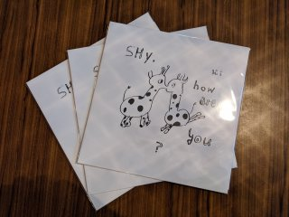 Hi,how are you? / Shy,how are you? (新品LP)