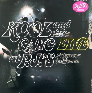 Kool And The Gang  /  Live At P.J.'s(USED LP)
