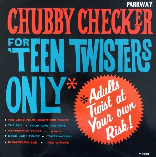 Chubby Checker  /  For 'Teen Twisters Only(USED LP)