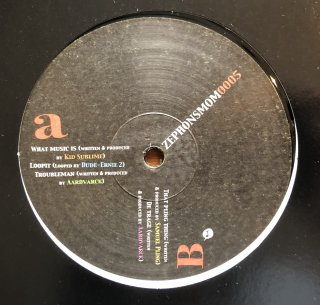 V.A / What Music Is (Written & Produced By KID SUBLIME)  (USED 12inch)