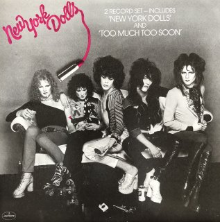 New York Dolls / New York Dolls/Too Much Too Soon  (USED 2LP)