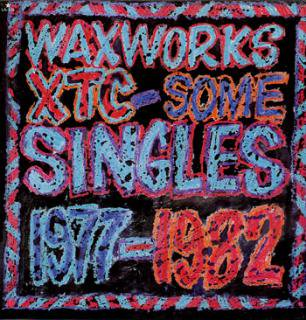 XTC/WAX WORKS SINGLES 1977-82(USED LP)