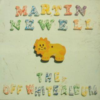 MARTIN NEWELL / THE OFF WHITE ALBUM (USED LP)
