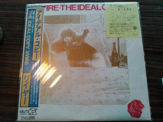 WIRE / THE IDEAL COPY (USED LP)