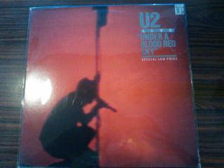 U2 / UNDER A BLOOD RED SKY (USED LP)