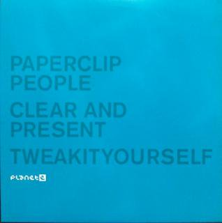PAPERCLIP PEOPLE / CLEAR AND PRESENT (USED 12INCH)