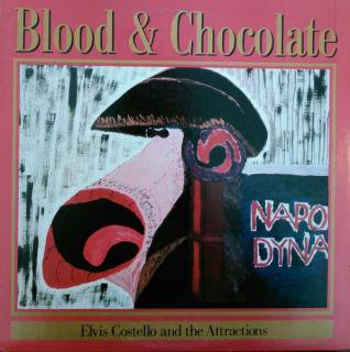 ELVIS COSTELLO & THE ATTRACTIONS / BLOOD & CHOCOLATE (USED LP)