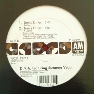 DNA featuring SUZANNE VEGA / TOM'S DINNER (USED 12INCH)