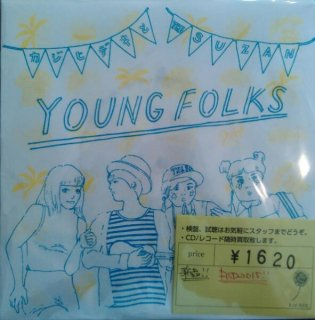 カジヒデキとTHE SUZAN / young folks (新品7INCH)