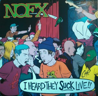NOFX / I HEARD THEY SUCK LIVE!! (USED LP)