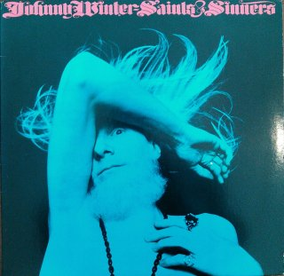 JOHNNY WINTER / SAINTS & SHINNERS (USED LP)