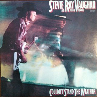 STEVIE RAY VAUGHAN AND DOUBLE TROUBLE / COULDN'T STAND THE WEATHER (USED LP)