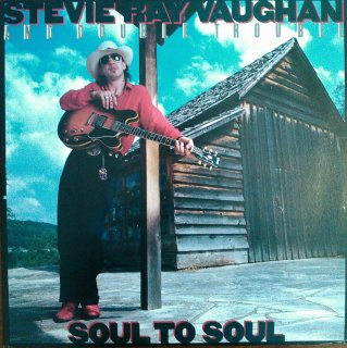 STEVIE RAY VAUGHAN AND DOUBLE TROUBLE / SOUL TO SOUL (USED LP)