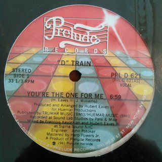 D TRAIN / YOU'RE THE OVER FOR ME (USED 12INCH)