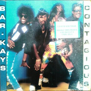 BAR KAYS / CONTAGIOUS (USED LP)