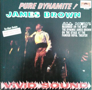 James Brown / Pure Dynamite! (Live At The Royal) (USED LP)