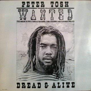 PETER TOSH / WANTED DREAD & ALIVE (USED LP)