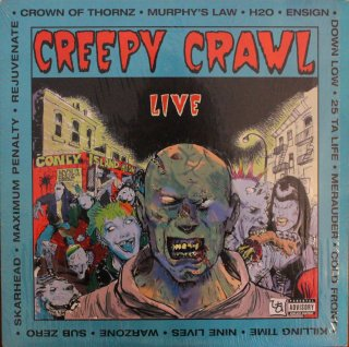 V.A / CREEPY CRAWL LIVE (USED LP)