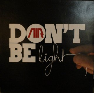 AIR / DON'T BE LIGHT 赤 (USED 12INCH)