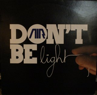 AIR / DON'T BE LIGHT 青 (USED 12INCH)