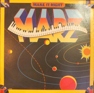 MARZ / MAKE IT RIGHT (USED LP)