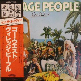 VILLAGE PEOPLE / GO WEST (USED LP)