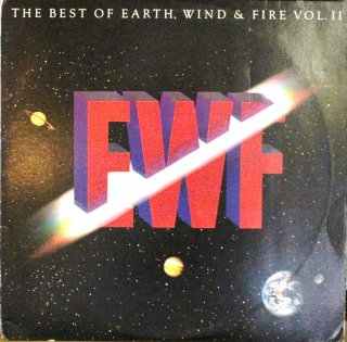 EARTH,WIND & FIRE / THE BEST OF EARTH WIND & FIRE VOL.2 (USED LP)