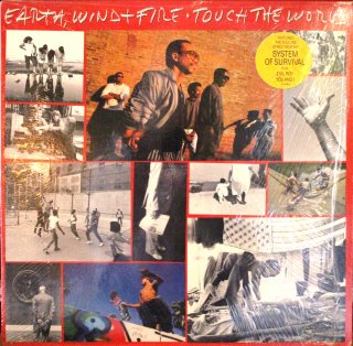 EARTH,WIND & FIRE / TOUCH THE WORLD (USED LP)