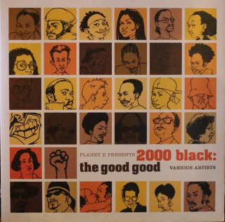 V.A / PLANET E PRESENTS 2000BLACK : THE GOOD GOOD (USED 2LP)