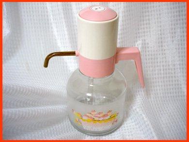 ☆昭和レトロ いちご柄のウォーターポット・冷茶ポット