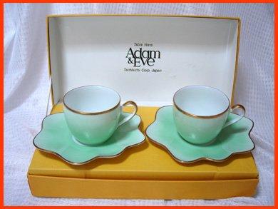 ☆A&E(アダム&イブ)コーヒーカップ ペアセット Tachikichi