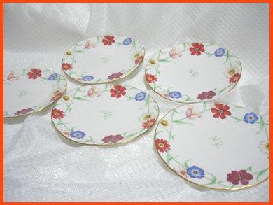 ☆NINA RICCI(ニナリッチ)の盛皿 デザート皿やケーキ皿に 5枚セット