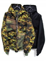 <img class='new_mark_img1' src='https://img.shop-pro.jp/img/new/icons47.gif' style='border:none;display:inline;margin:0px;padding:0px;width:auto;' />PADDING WORK ZIP HOODIE