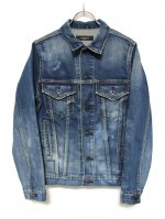 "<img class='new_mark_img1' src='//img.shop-pro.jp/img/new/icons14.gif' style='border:none;display:inline;margin:0px;padding:0px;width:auto;' />THIRD DENIM JACKET ""VINTAGE"""