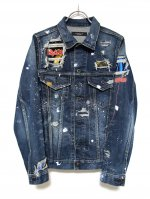 "<img class='new_mark_img1' src='//img.shop-pro.jp/img/new/icons14.gif' style='border:none;display:inline;margin:0px;padding:0px;width:auto;' />THIRD DENIM JACKET ""ROCKSTAR"""