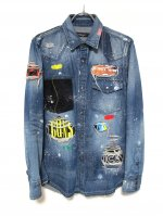 "<img class='new_mark_img1' src='//img.shop-pro.jp/img/new/icons14.gif' style='border:none;display:inline;margin:0px;padding:0px;width:auto;' />DENIM SHIRTS ""ROCKSTAR"""