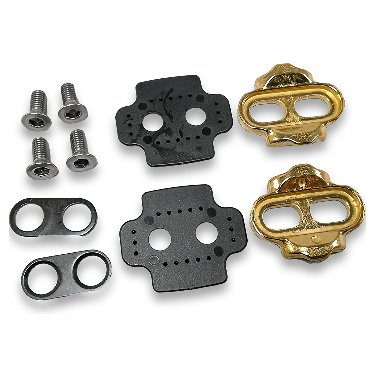 Crank Brothers premium cleat kit