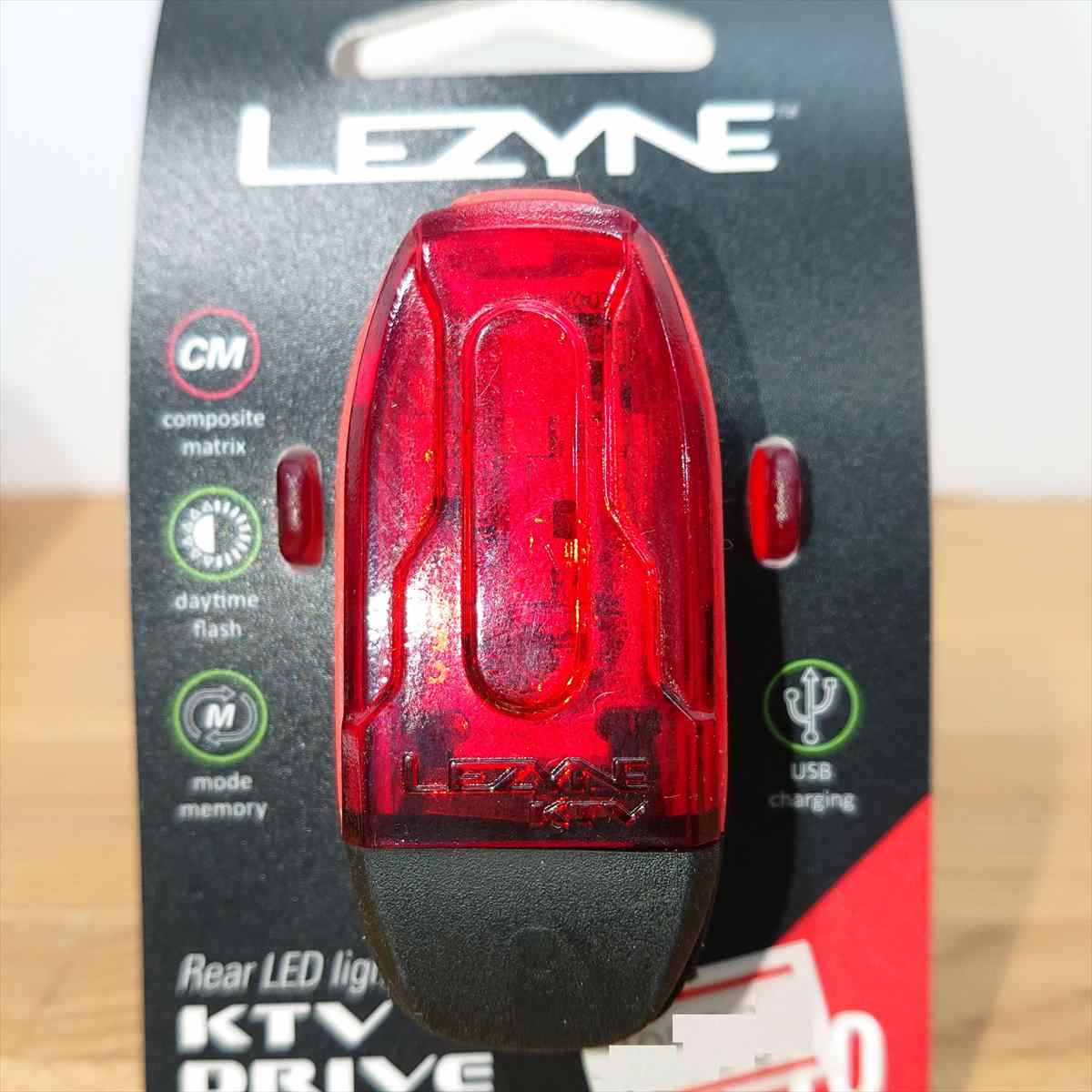 LEZYNE KTV DRIVE REAR RED