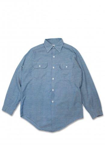 King Kole キングコール 70's Chambray Shirts シャンブレーシャツ (USED)