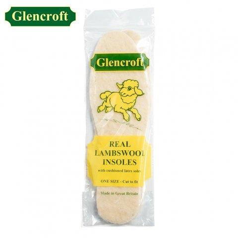 Glencroft グレンクロフト ラムズウール インソール イギリス製 ユニセックス (UK3〜12)