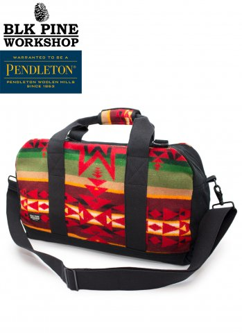 <img class='new_mark_img1' src='//img.shop-pro.jp/img/new/icons20.gif' style='border:none;display:inline;margin:0px;padding:0px;width:auto;' />BLK PINE WORKSHOP PENDLETON BOSTON BAG ブラックパインワークショップ ペンドルトン ボストンバッグ
