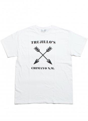 Trujillo's CrossArrow トゥルフィリオス クロスアロー Tシャツ ホワイト