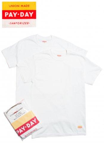 PAYDAY 2 T-SHIRTS VALUE PACK ペイデイ 2パック クルーネック Tシャツ PDH-017 ホワイト