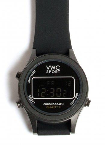 VAGUE WATCH Co. ヴァーグウォッチカンパニー デジタル 腕時計 DG2000 ブラック/ブラック